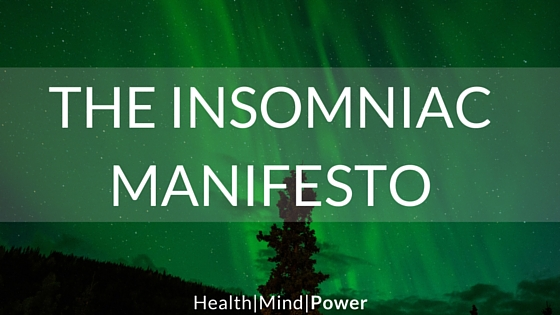 how to get an insomniac to sleep