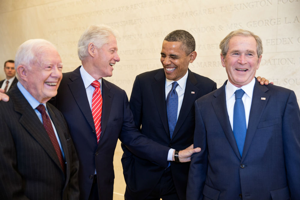 former presidents don't take it personal