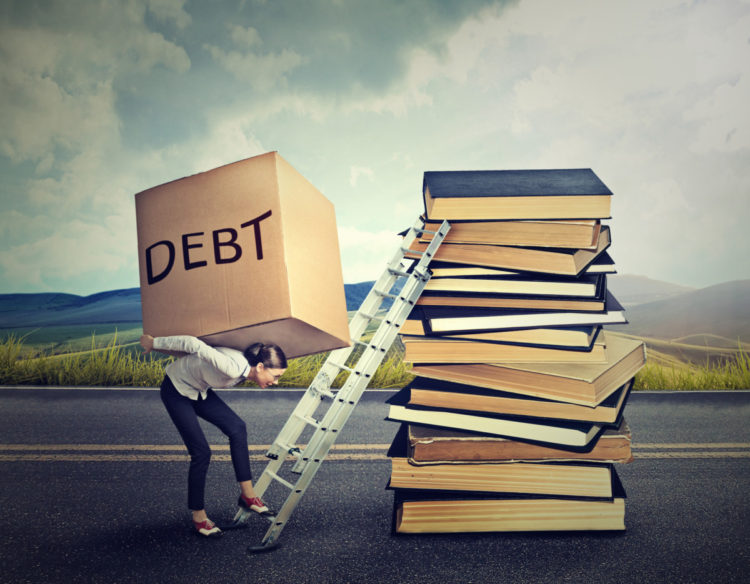 student debt affecting value of collge