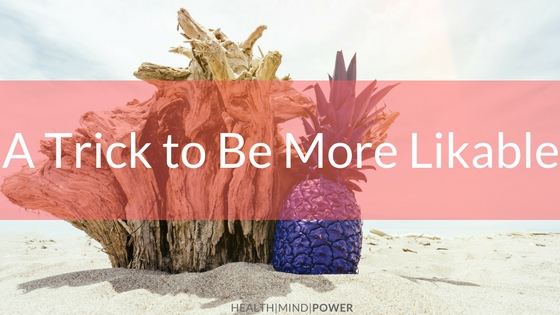 blog about being likable