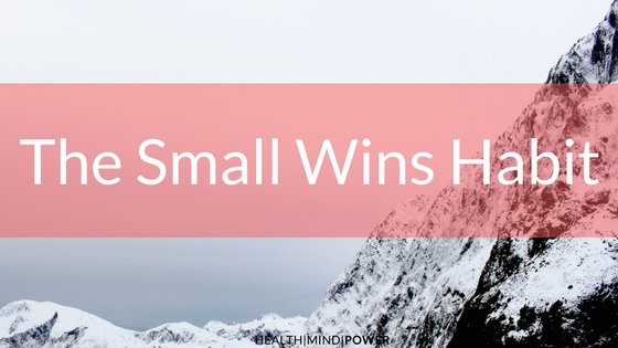 small wins are like an avalanche