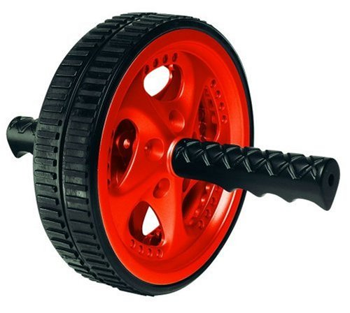 red and black ab wheel