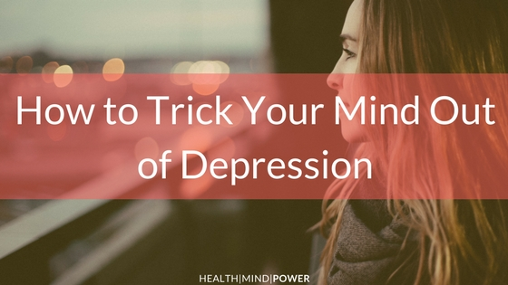 cure depression with your mind