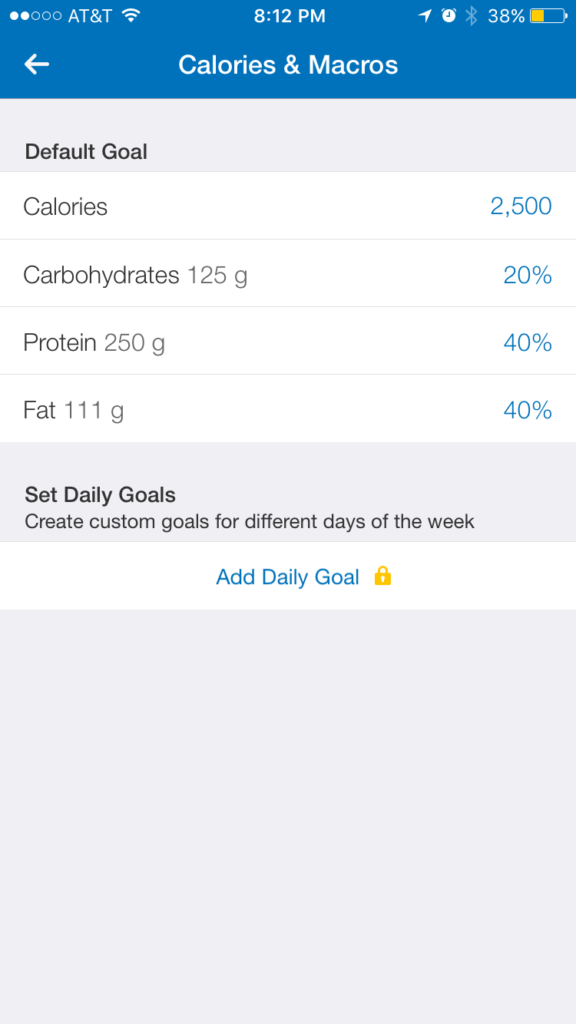 how to track your macros with an app