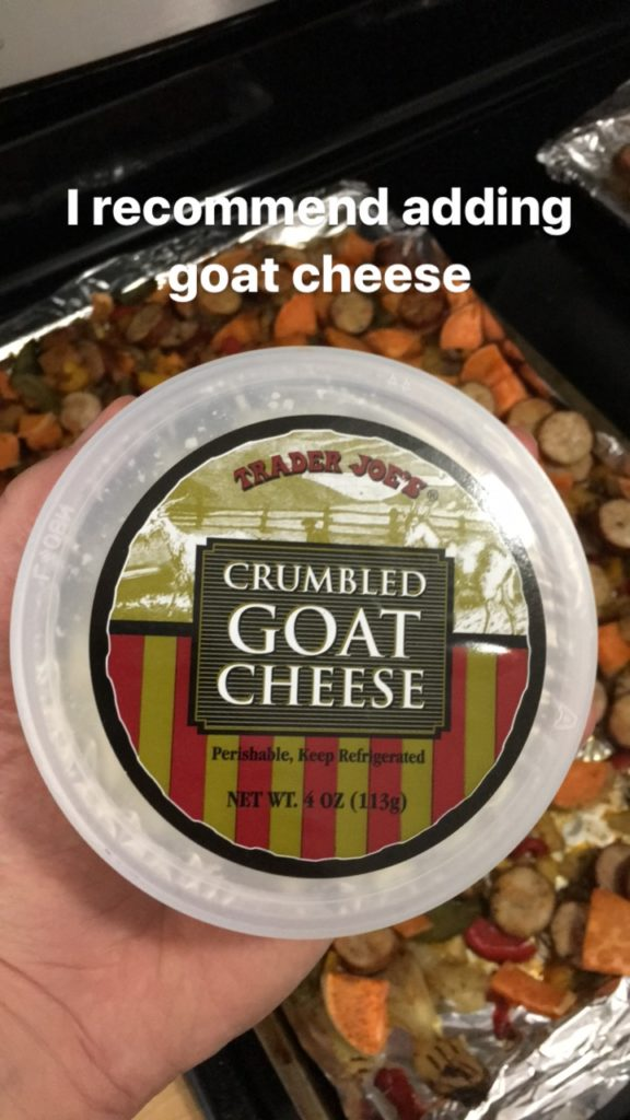 healthy goat cheese recipe