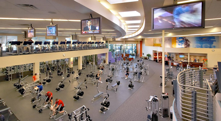 typical chain gym