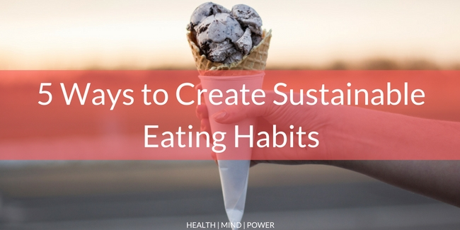 build consistent eating habits