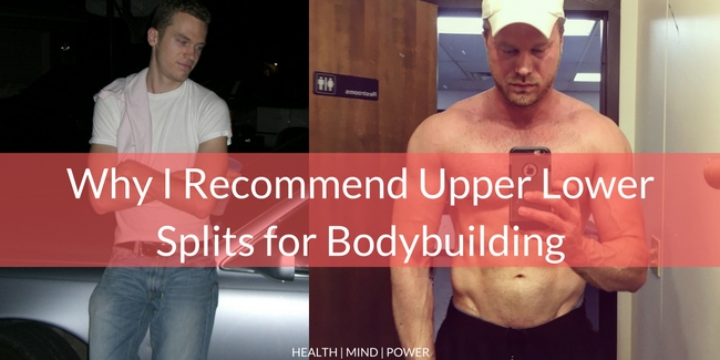 upper lower bodybuilding routine
